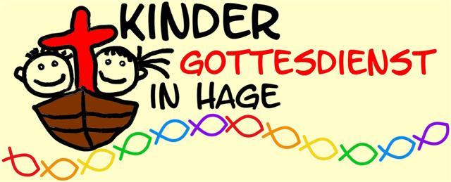 Bild und Logo Kindergottesdienst in Hage