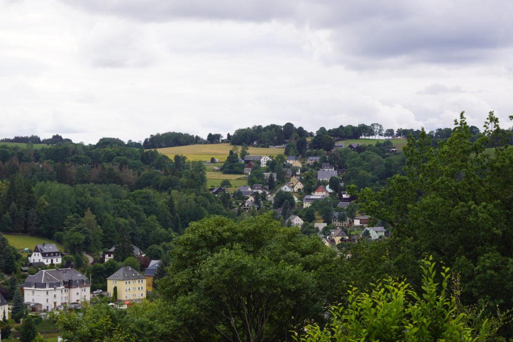 Jugendfreizeit im Erzgebirge 2019 - Tag 2-4: Blick über Johanngeorgenstadt