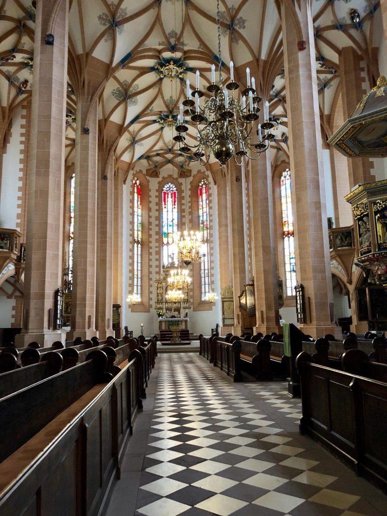Jugendfreizeit im Erzgebirge 2019 - Tag 2-4: St. Annenkirche (Annaberg-Buchholz)
